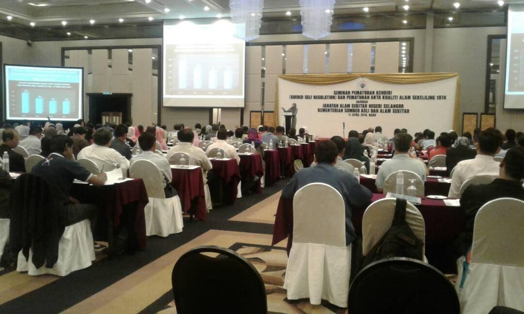 Pameran Sempena Seminar Pematuhan Kendiri (Guided Self Regulation) Dan Pematuhan Akta Kualiti Alam Sekeliling 1974 Anjuran Jabatan Alam Sekitar Negeri Selangor