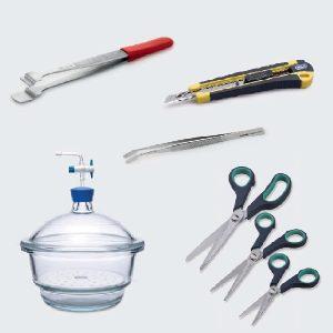 Spatulas, Forceps, Scissors & Scoops
