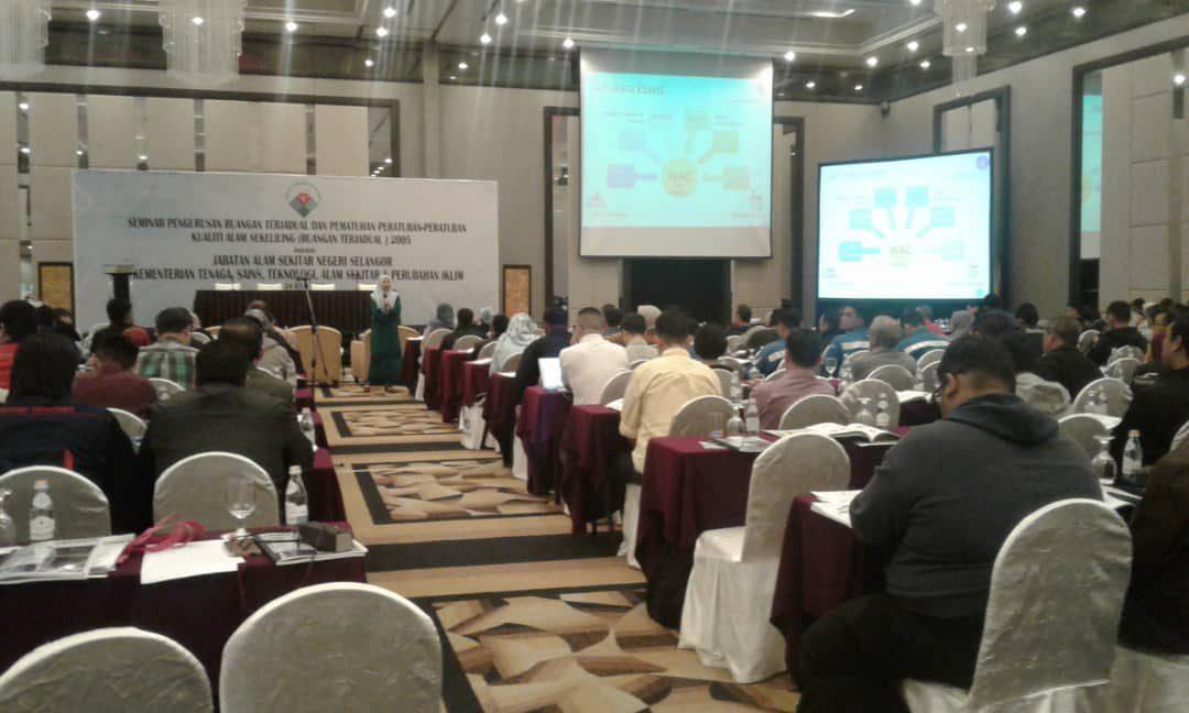 Seminar Pengurusan Buangan Terjadual Dan Pematuhan Peraturan-Peraturan Kualiti Alam Sekeliling (Buangan Terjadual) 2005
